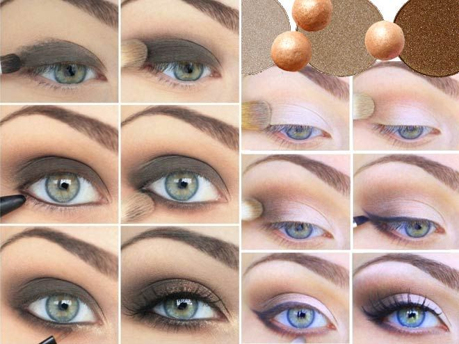 How To Do Smokey Eyes For Blue Eyes And Blonde Hair Ideas Blue