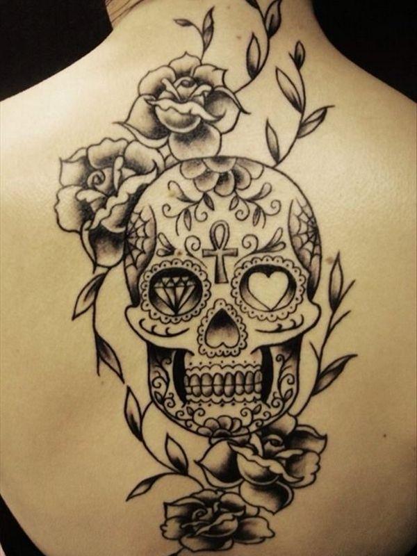 40 Best Skull Tattoo Designs Skull Tattoo Mexican Skull Tattoos Neck Tattoo