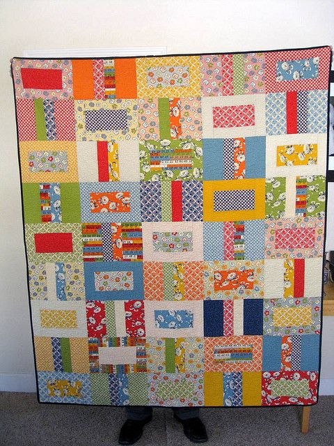 Good quilt to use up scraps