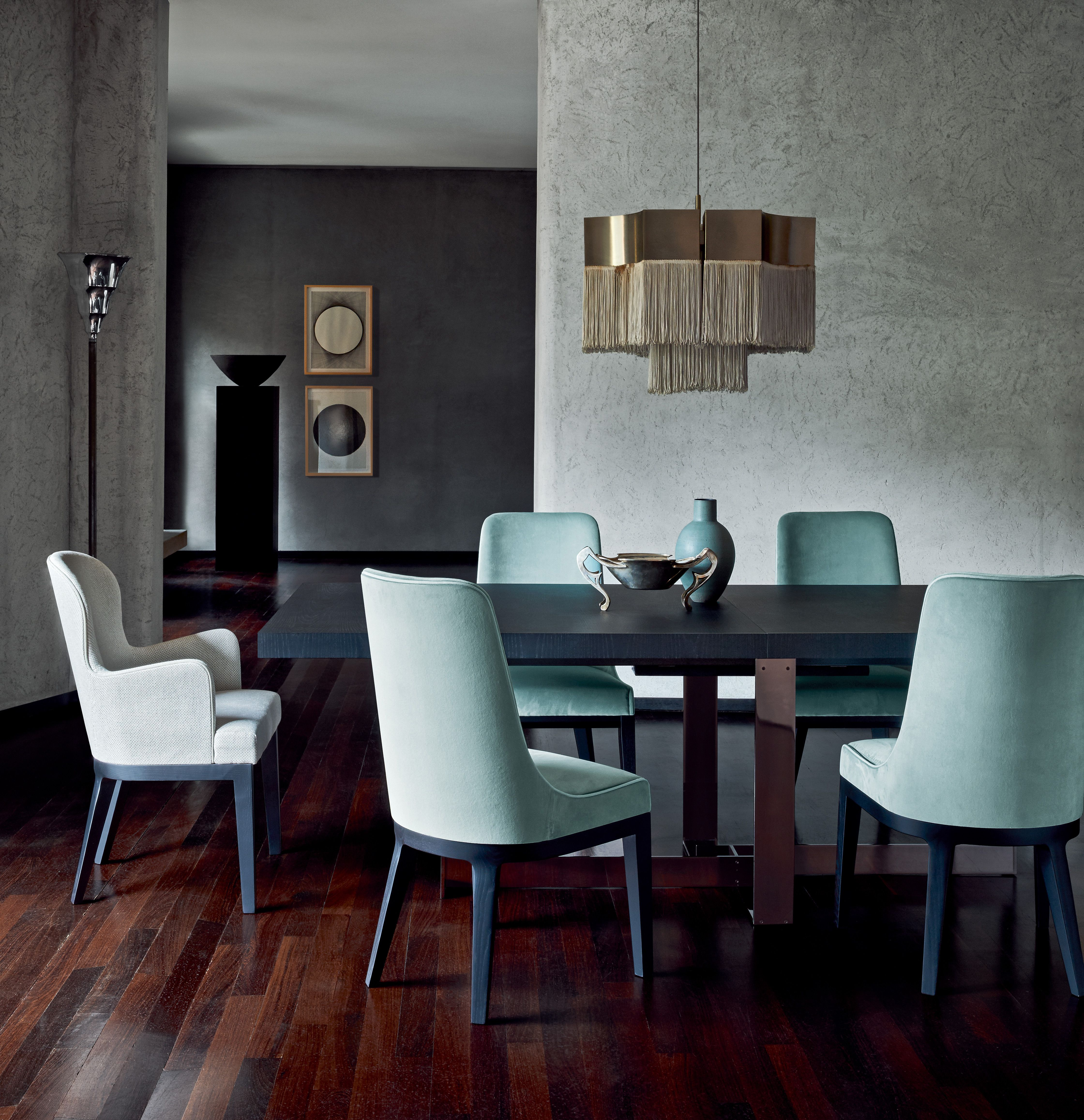 Roberto Lazzeroni Design.Flexform Mood Jacques Dining Table Me And You Chairs