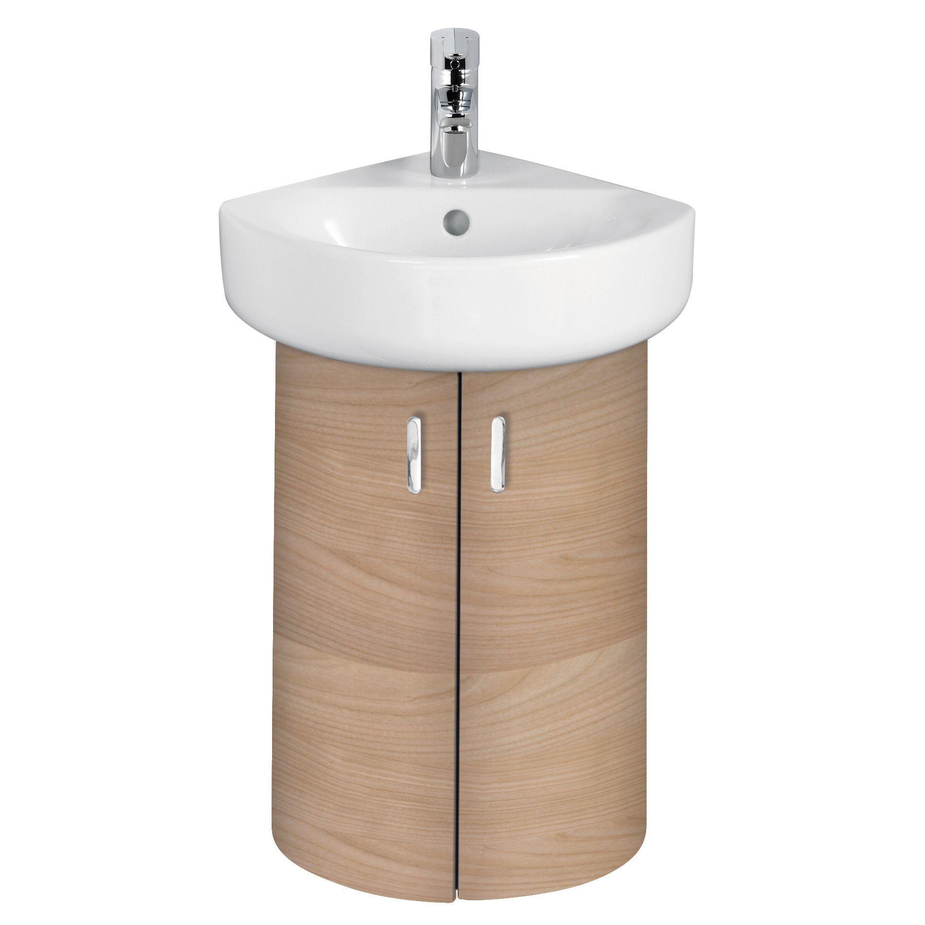 Ideal Standard Imagine Compact Oak Effect Vanity Corner