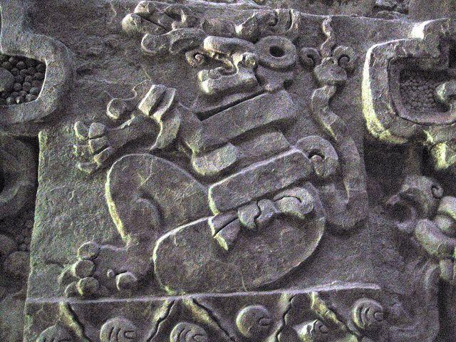 Relieves Mayas, Balankú, Mexico