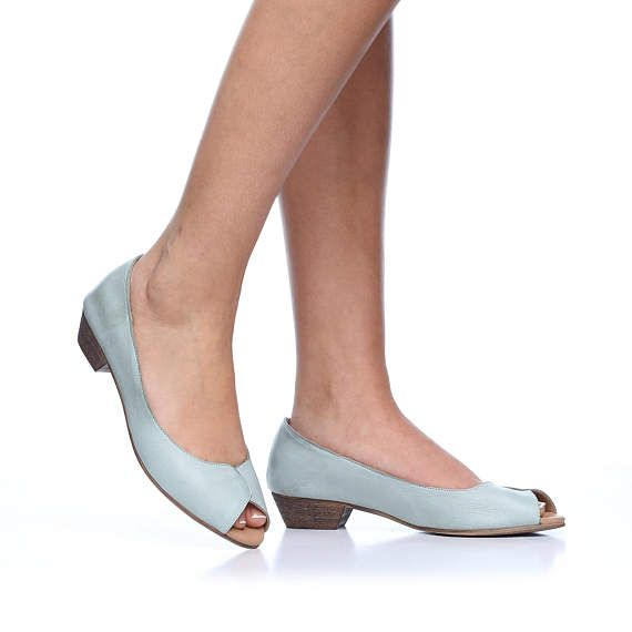 Mint Sydney Leather High Heel Shoes Handmade Comfortable Heels Wedding Women