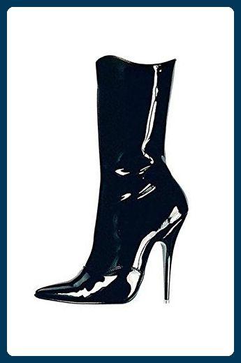release date a0295 90652 Ledapol - Lack Stiefel / Stiefelette Chantal schwarz - Gr ...