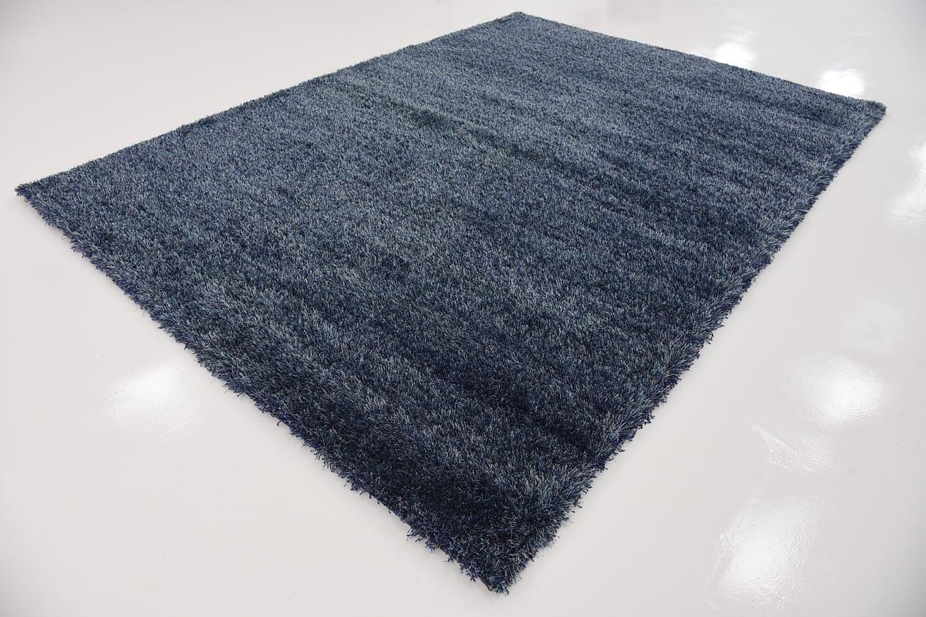 Navy Blue 215cm X 305cm Luxe Solid Rug Area Rugs