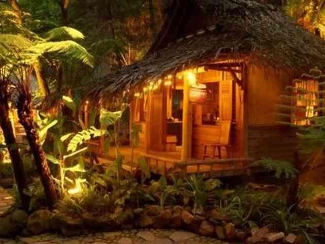 Kampung Daun Tempat, Indonesia, Taman miniatur