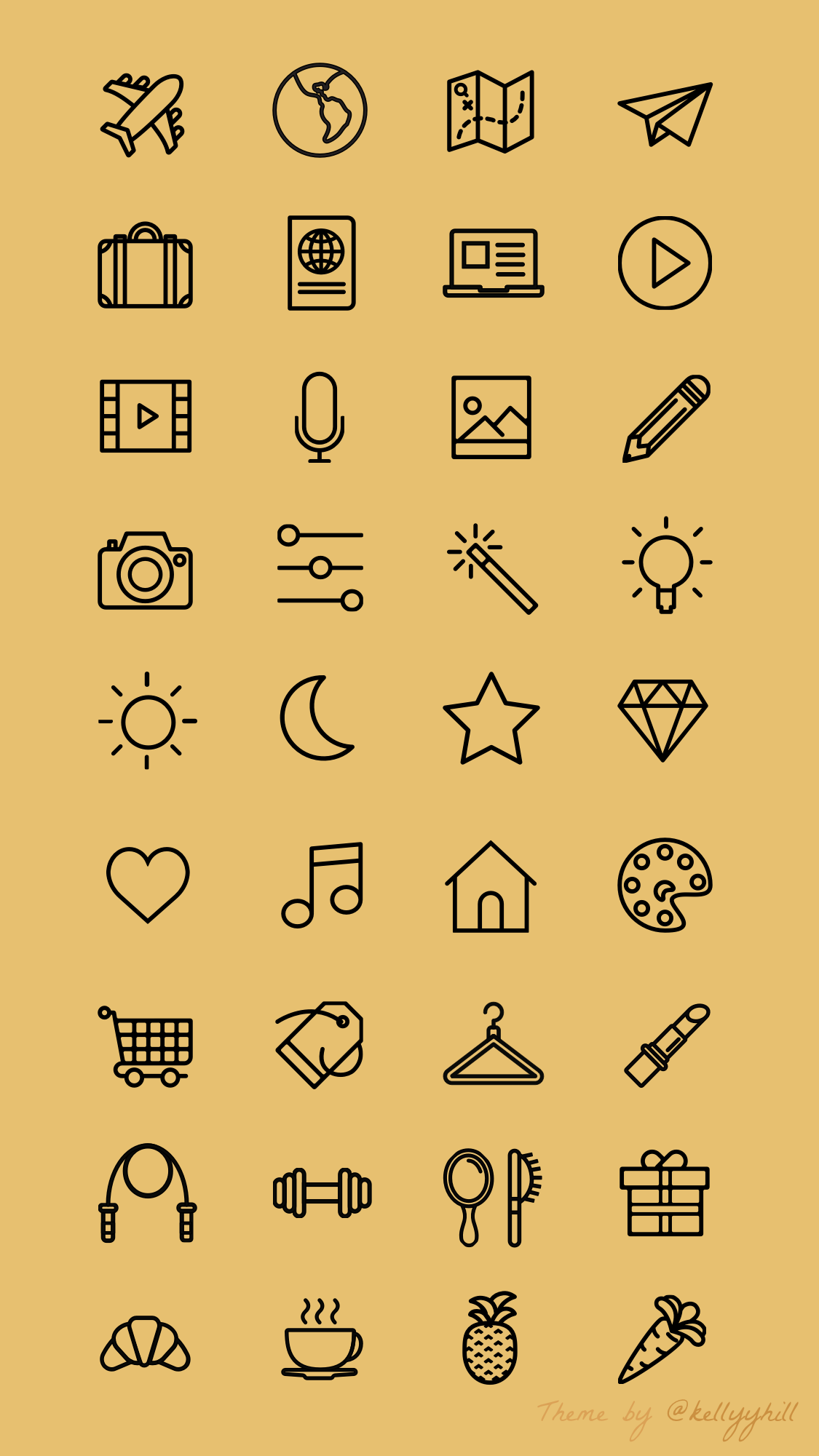 I will design an Instagram highlights icon