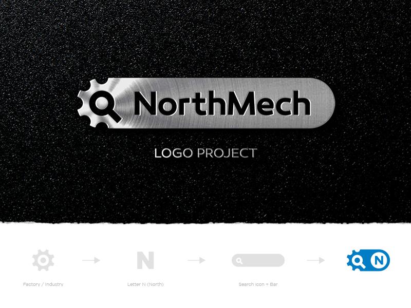 NorthMech Logo Project. goashape Logo project, Logos