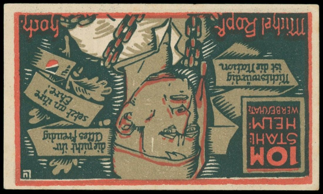 Minimum Gmbh hamburg 193 notes in the album decorative pieces dealer