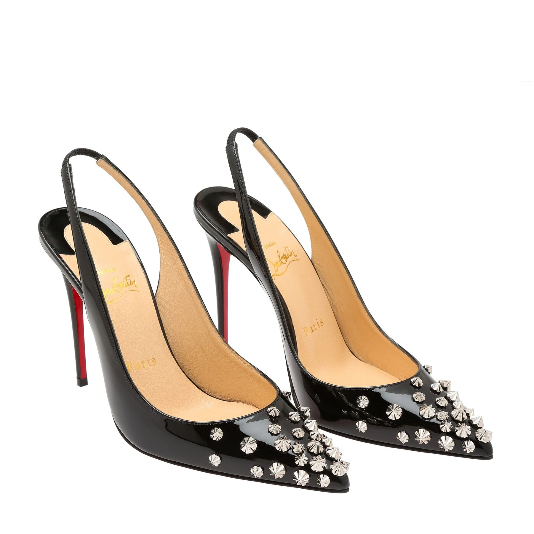 633c380d5bf Drama Sling 100 pumps Women Black. Find this Pin and more on shoes  Christian Louboutin ...