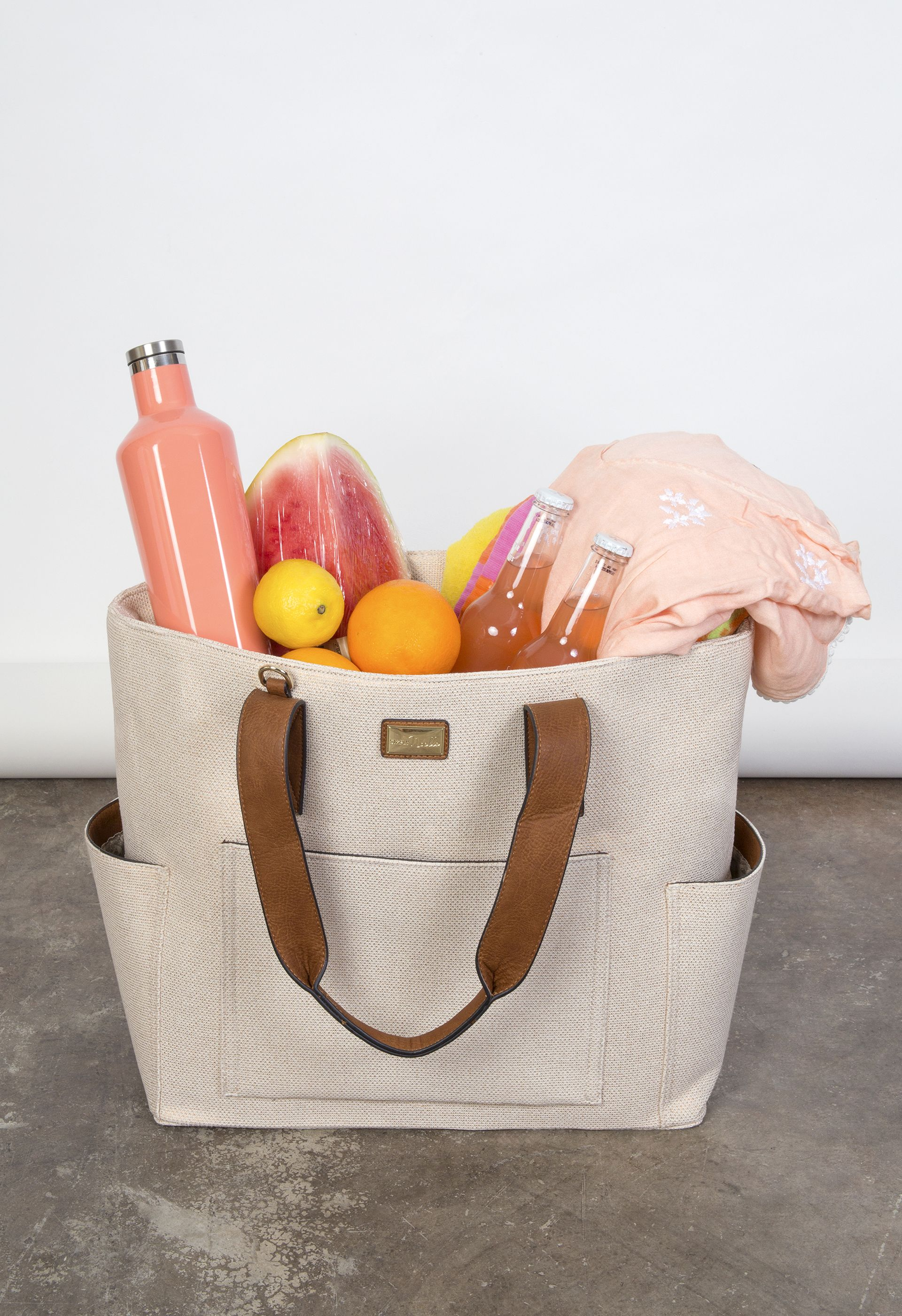 Insulated tote bag by Simply Noelle - the perfect poolside, picnic ...