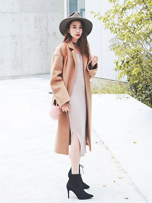 冬コーデ,vivi12月号,ViViモデル,河北麻友子,ファッション,セレブ. ガールズファッションストリートファッション東京