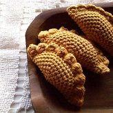 Empanadas patron gratis crochet ganchillo comida amigurumi #muñecosdeganchillo Empanadas patron gratis crochet ganchillo comida amigurumi #confirmationdresses