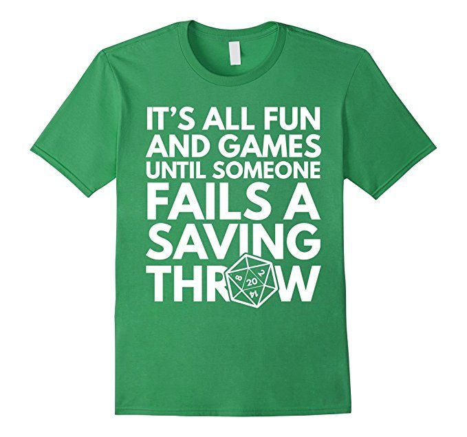 d55dfdc6 It's All Fun & GamesFunny RPG T-Shirt: Clothing | Cases Tees ...