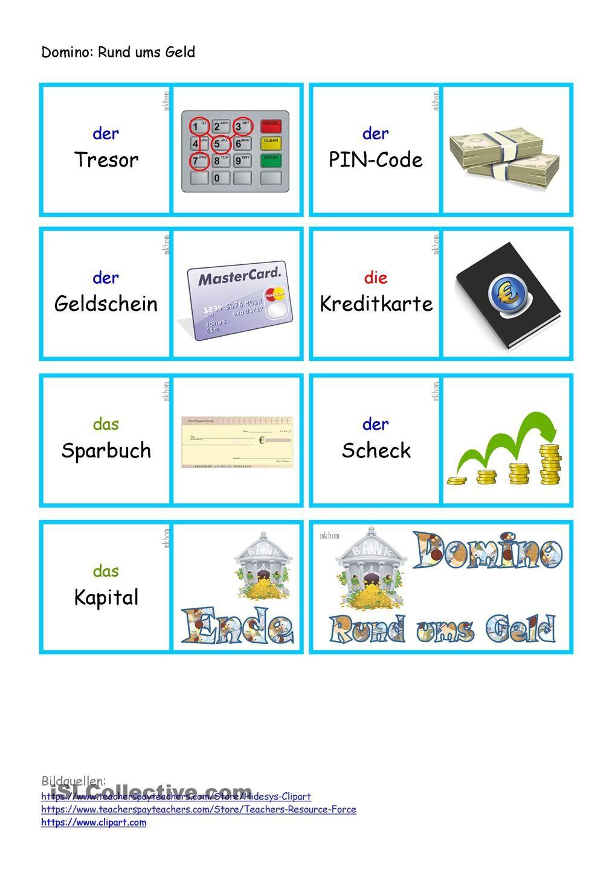 Rund ums Geld _ Domino | Pinterest | Mathe, Deutsch lernen und Lernen