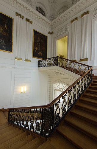 Schloss Charlottenburg Staircase Tyskland Deutschland