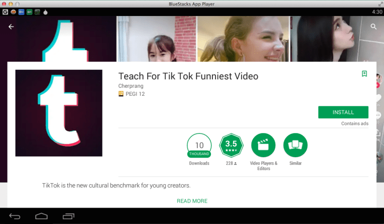 Download and Install Tik Tok for PC Windows and Mac