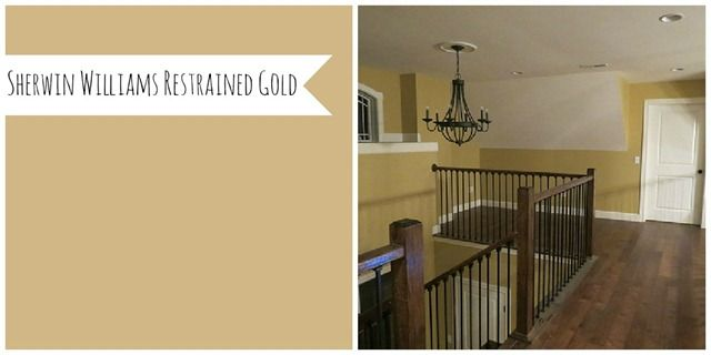 Favorite Paint Colors Of DIY Bloggers   (This One Is Sherwin Williams  Restrained Gold) · Living Room ... Part 85