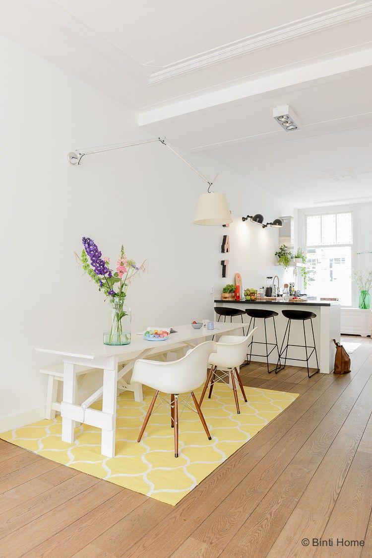 Woonkamer met design Verkoop fotografie voor Familiehuis in prachtig ...