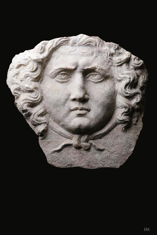 Greek Etruscan roman  GORGONE MEDUSA gorgon applique decoration
