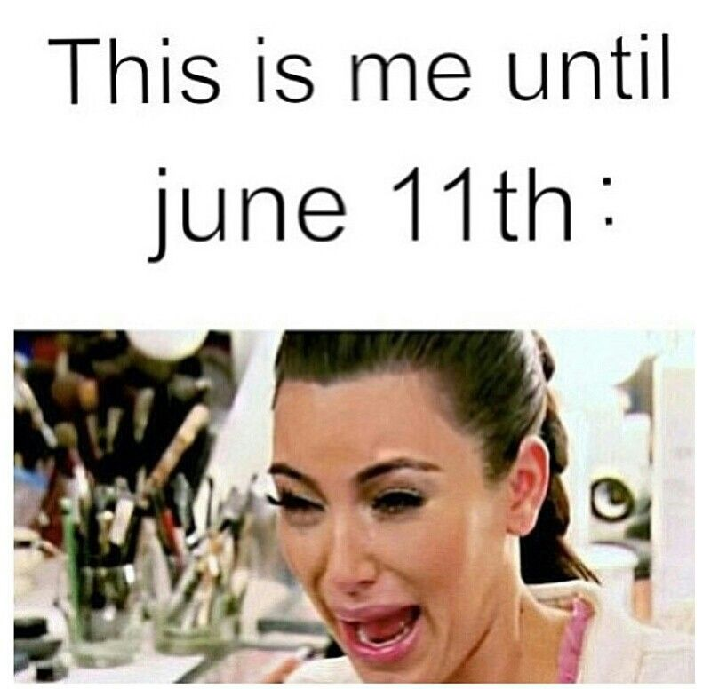 Pretty Little Liars! That was me until season 5 premiered June 10th!