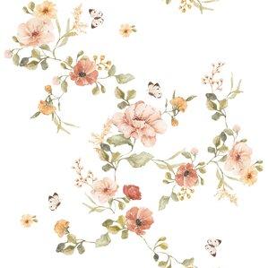 Dekornik Kindertapete Vintage Blumen Puder Grun Senfgelb 50x280cm Bei Fantasyroom Online Kaufen In 2020 Vintage Blumen Wallpaper Kinder Tapete Papierwande
