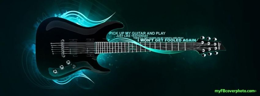 My Facebook Cover Photo Facebook Covers Timeline Covers Music Wallpaper Music Backgrounds Guitar