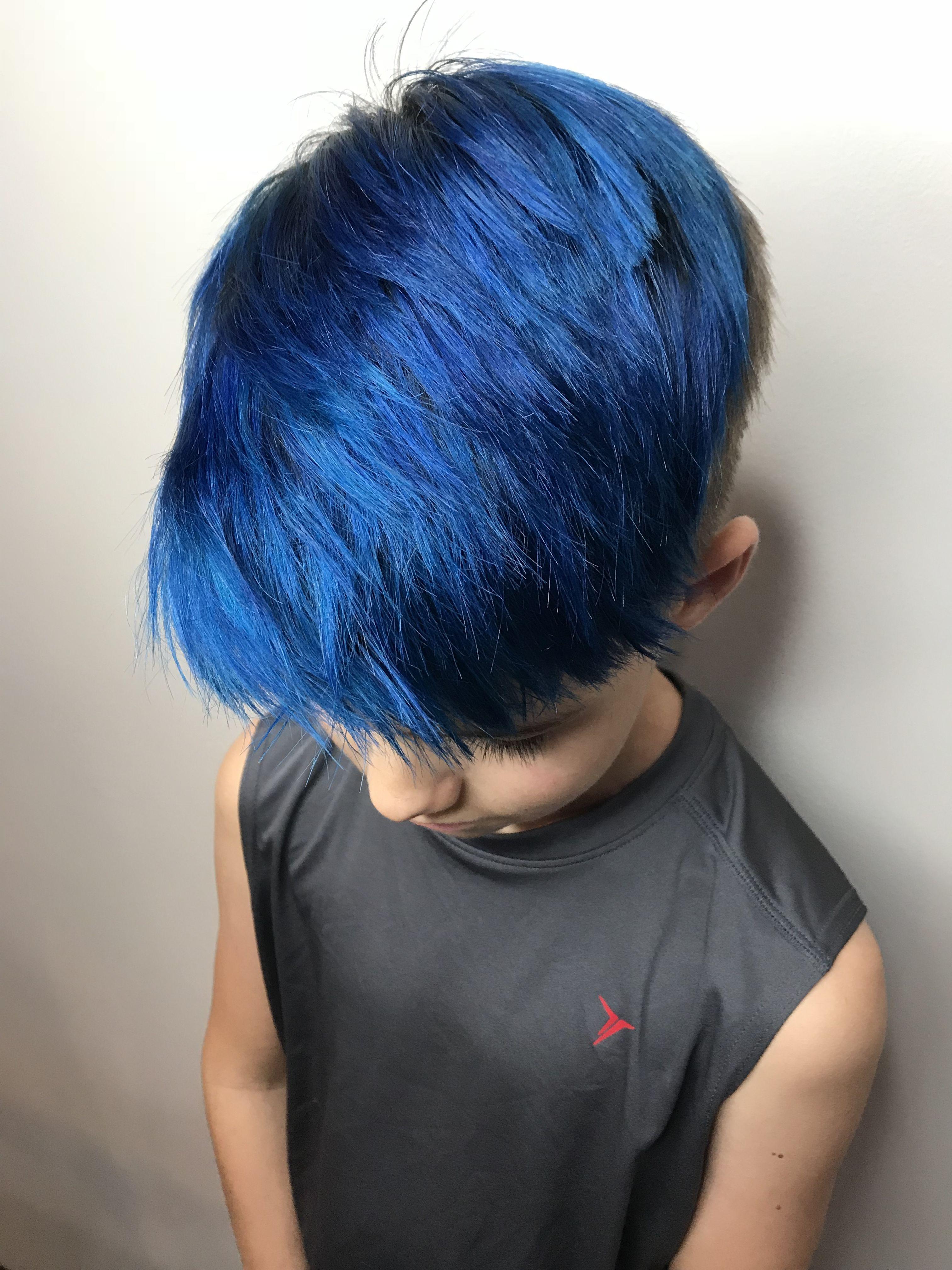 Bobcat Blue Kids Hair Color Hair Color Coloring For Kids