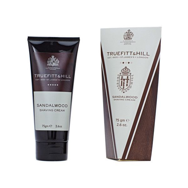 Sandalwood Shave Cream Tube by Truefitt and Hill. Get yours now for $26.00 SGD! #naiise #truefittandhill