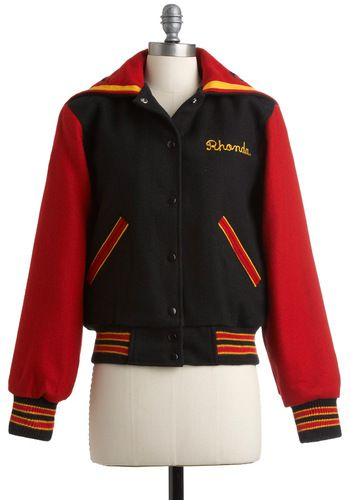 Vintage Cheer Squad Jacket