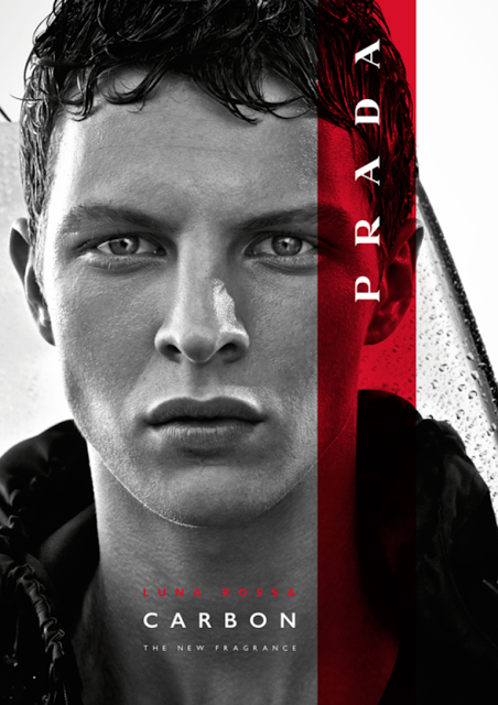 9847d29f9 CAMPAIGN: Prada Luna Rossa Carbon | Male Models | New fragrances ...