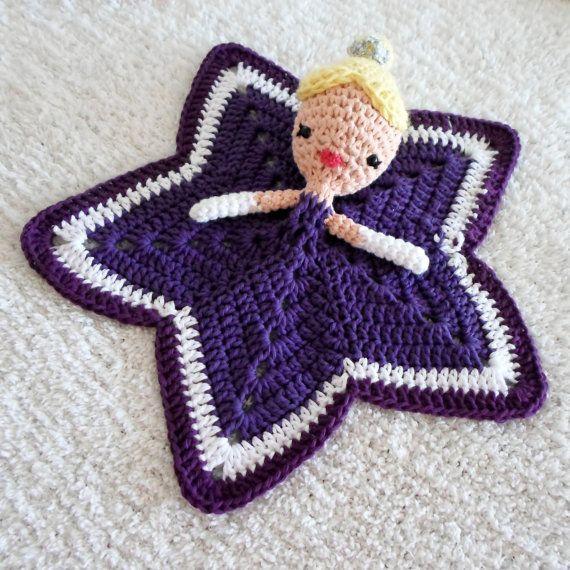 Princess Lovey Crochet Amigurumi Pattern PDF INSTANT DOWNLOAD ...