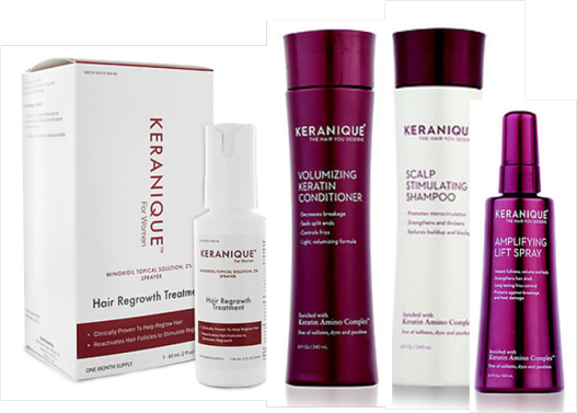 Try The Sulfate Free Keranique Hair Shampoo To Clean Your
