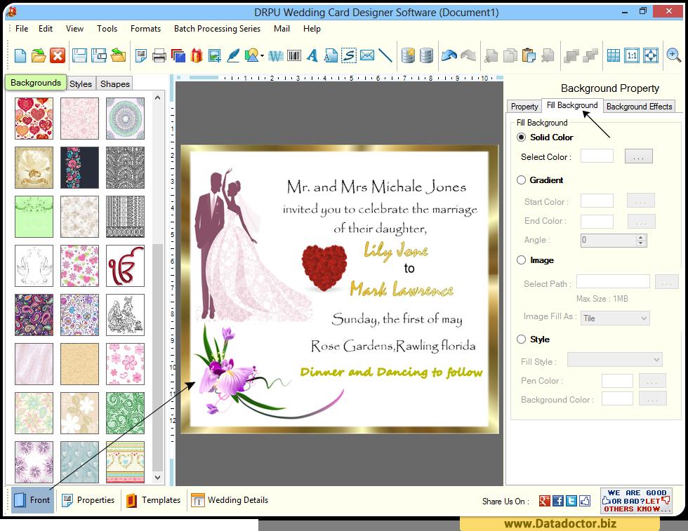 Wedding Invitation Creator Wedding Invitation Cards
