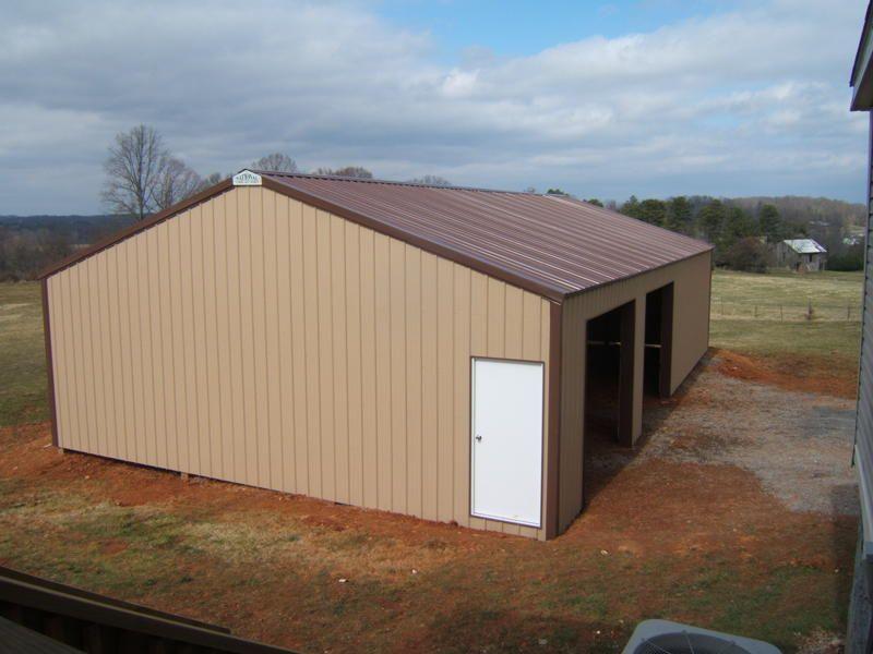 30x50x10 Post Frame Building : Garage nationalbarn national barn