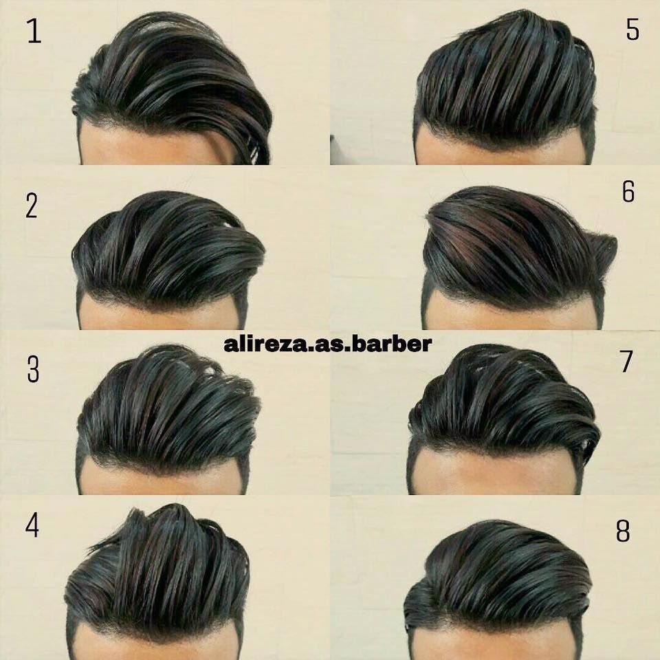 Boy haircuts black hair ng