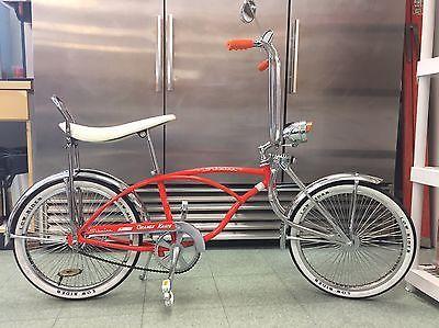 Schwinn Stingray Orange Krate Lowrider Bicycle 20 Muscle Bike