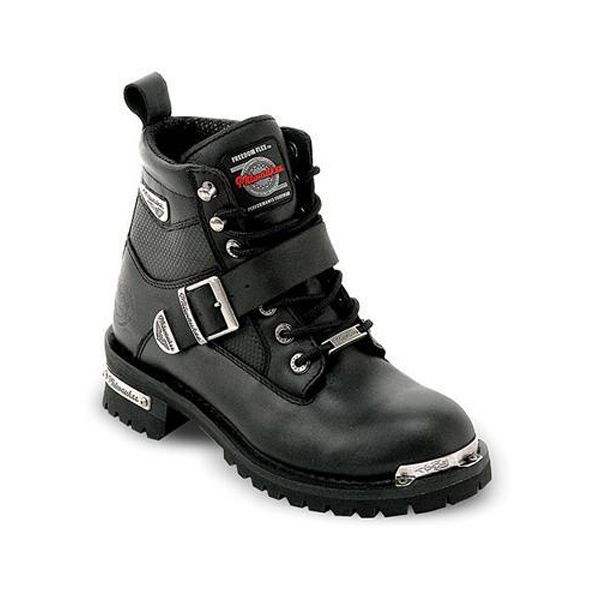 a236f59b54d Milwaukee Renegade Motorcycle Boots for Women - Motorcycle Boots ...