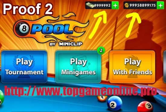 8 ball pool free coins and cash app