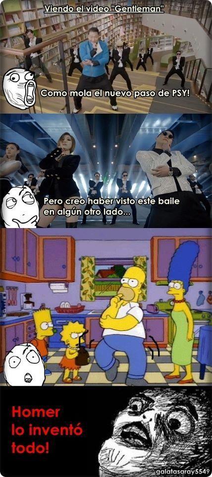 Homero lo inventó!