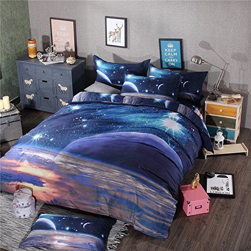 Pin On Motel 51 Set, Queen Size Space Bedding