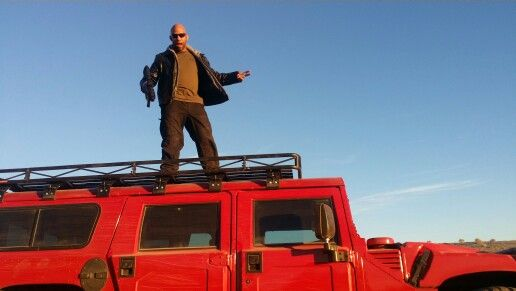 On top of my hummer