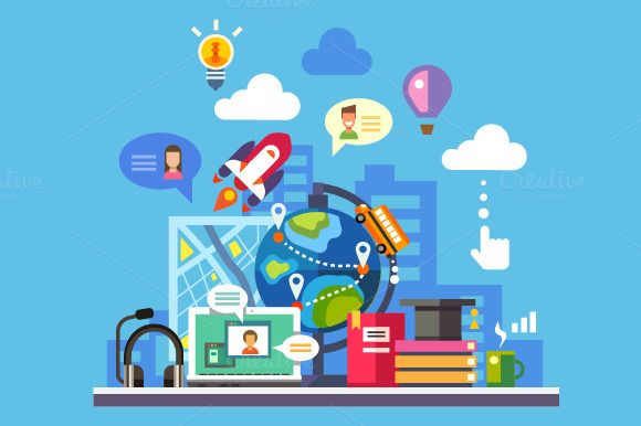 Science And Modern Technology Online Learning Technology Educational Technology