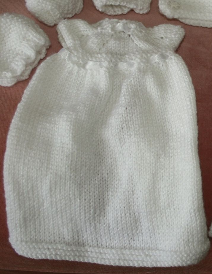 Burial Gown Babies Born Asleep And Preemie Baby Crochet And Knit