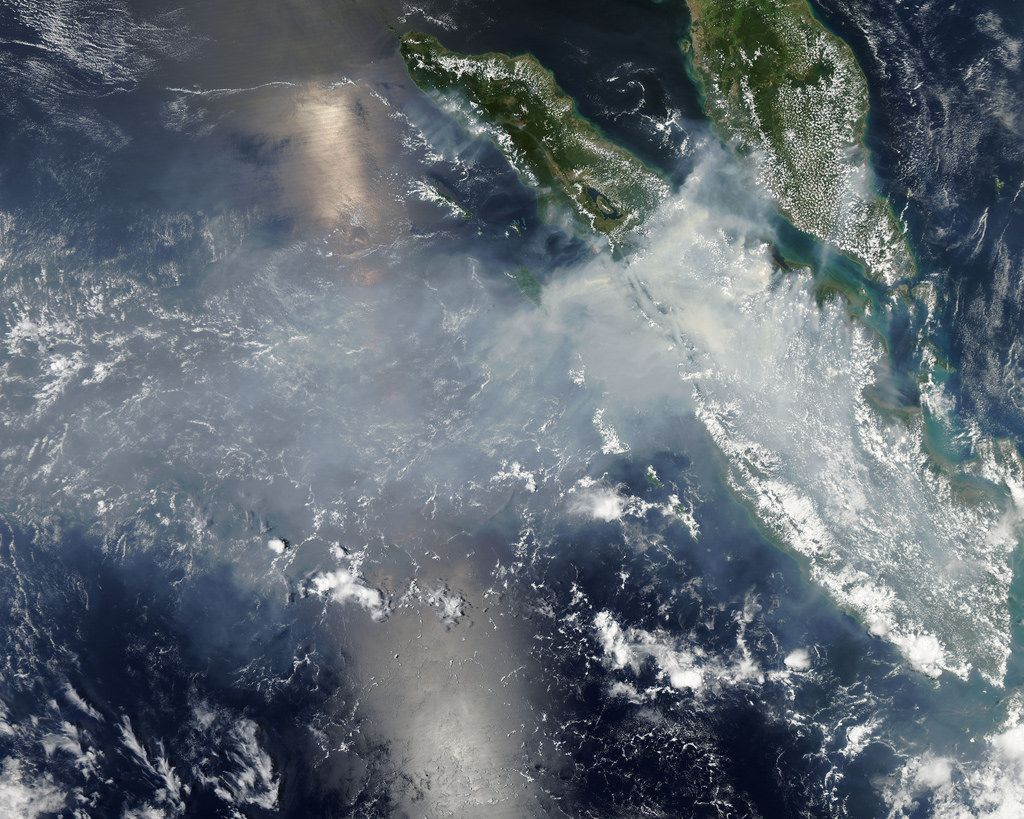 The hazes in Southeast Asia have become an increasingly frequent occurrence and can spread across many countries, causing serious health and safety concerns. It can be hazardous to even go outside, so often cities will shut down, adding economic costs to the list of consequences.