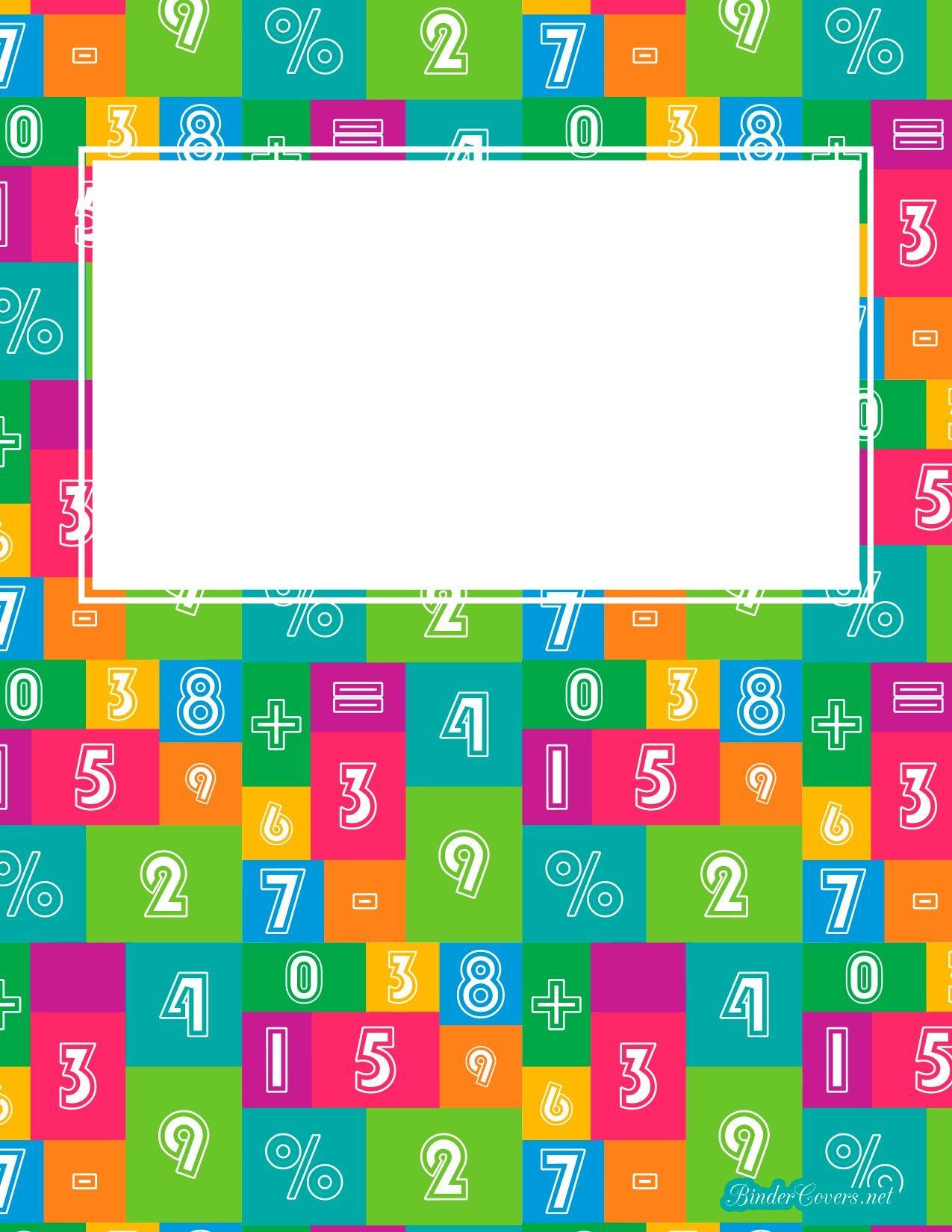 Portada. Cuaderno nùmeros | Portadas | Pinterest | Santiago, Años y ...