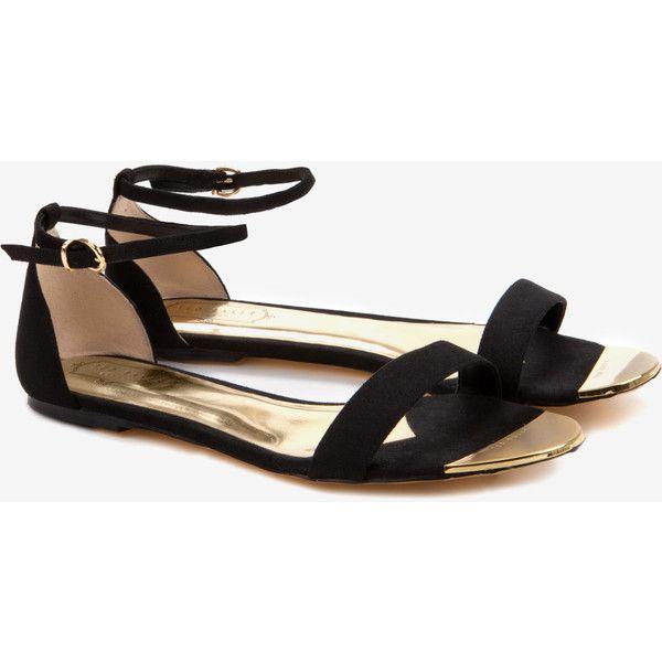 Flat Cross Strap Leather Sandals Ted Baker du9166