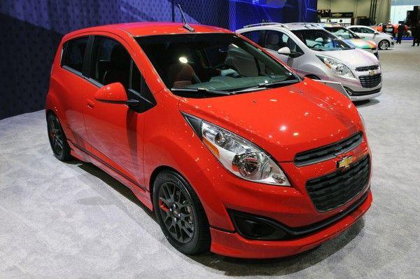 Chevrolet Spark Z Spec Concept Chevrolet Spark Chevrolet Chevy