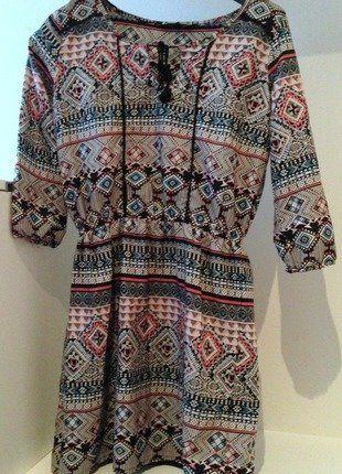 f592a85b2 Etno šifinové šaty se střapci ve výstřihu a s podšívkou | Vinted prodej! |  Dresses, Dresses with sleeves a Sleeves