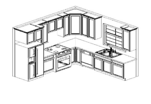 How To Lay Out A Kitchen Design Kitchen Layout Small Floor Plans Layouts For An 8 X 10